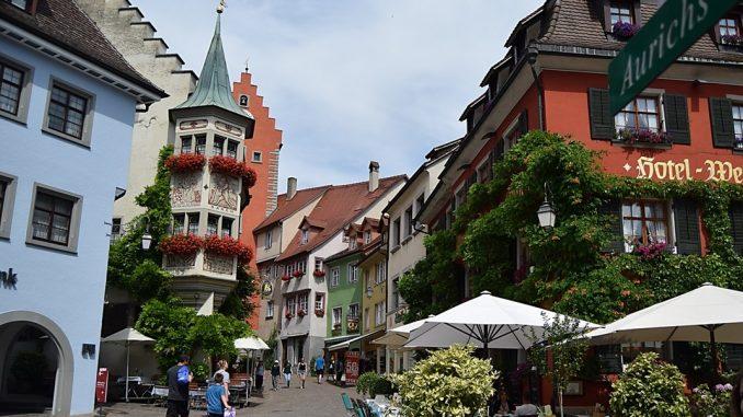 Almanya Konstanz Gölü Çevresinde Görülesi Yerler