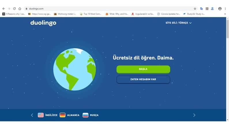 Yabancı Dilinizi Geliştirebileceğiniz Ücretsiz Siteler