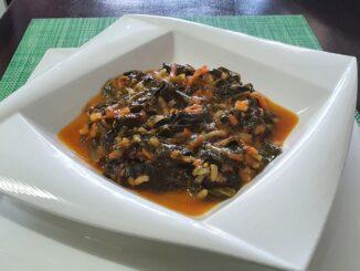 Havuçlu Ispanak Yemeği
